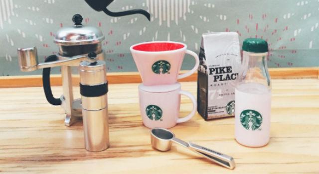 袖珍品粉絲要暴動啦!星巴克推出「迷你經典咖啡商品」就算有錢也買不到!