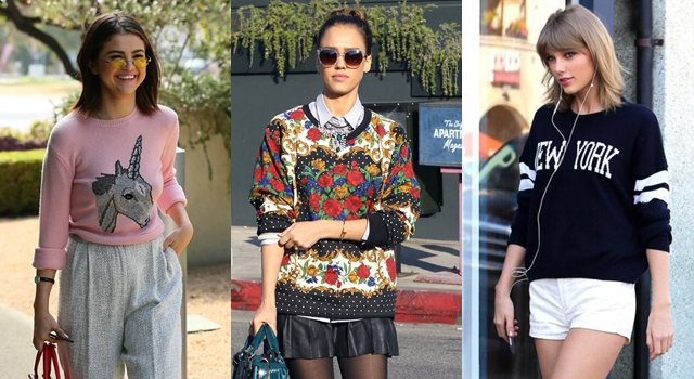 Oversize款毛衣今年超夯!席琳娜、泰勒絲的「顯瘦」穿搭法快學起來