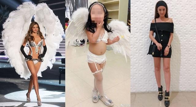 關穎女兒萬聖節扮維密天使遭網友批!《每日郵報》:過個節,別那麼認真嘛!