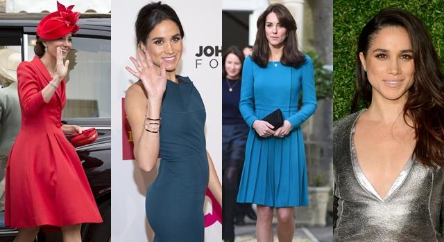 高衣Q的凱特王妃竟然和「她」大撞衫!媒體抓包穿準妯娌穿同一件洋裝...