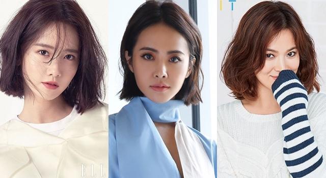 潤娥、蔡依林、宋慧喬瘋「學生頭」短髮!一秒變小臉的3種變化大公開