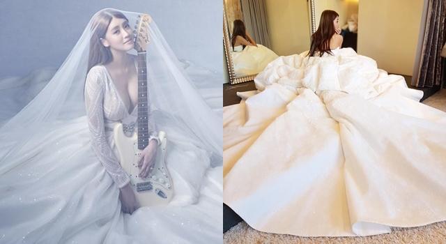 賴琳恩、陳乃榮甜蜜婚宴就在今晚!新娘婚紗將走「火辣性感風」?