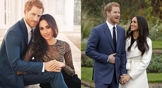 哈利王子最新訂婚照曝光!準王妃梅根穿「過季」禮服秀鑽戒超甜蜜!