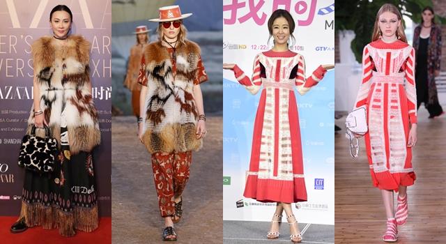 【時尚前後台Top 5】52歲劉嘉玲當皮草女神、30歲劉亦菲新娘頭變大媽!