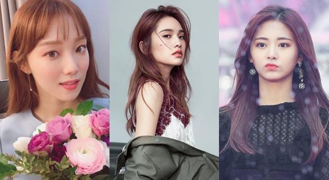 「絲綢金莎橘」染髮美翻了!2018年把宋慧喬、楊丞琳、周子瑜的髮色染起來!