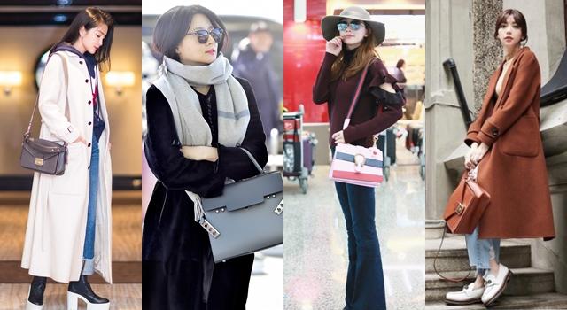 水桶包、馬鞍包褪燒了?李英愛、林志玲、郭雪芙…女星最近愛的包都很「正」!