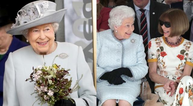 91歲英女王首次看秀!時尚女魔頭作陪「這個壞習慣」被批失禮⋯