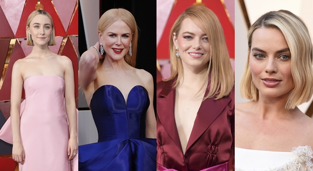 90屆奧斯卡紅毯妝髮好無聊?眾女星打安全牌一致清淡風