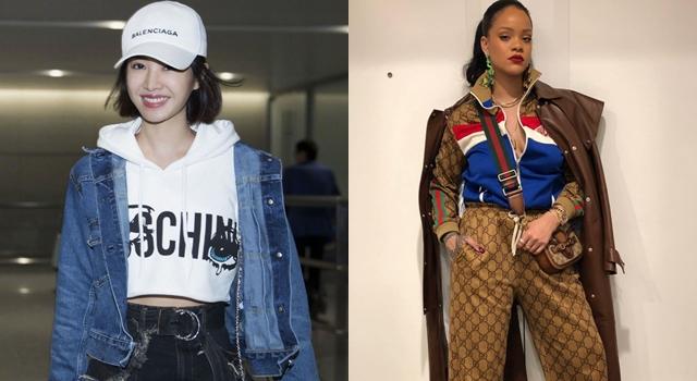 誰敢說這土豪?呸姐蔡依林、蕾哈娜帶頭「LOGO穿上身」越大越時髦!