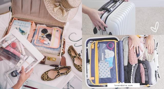 讓行李箱多出1倍空間!10個超實用的「行李收納」小技巧!