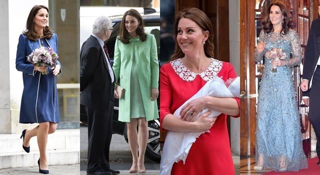 凱特王妃抱小王子產後首亮相!連生三胎指定款洋裝都是「它」!