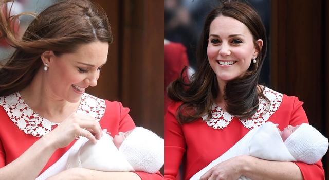 凱特王妃產後現身的「暗示」不只紅色洋裝,還有這個小細節...