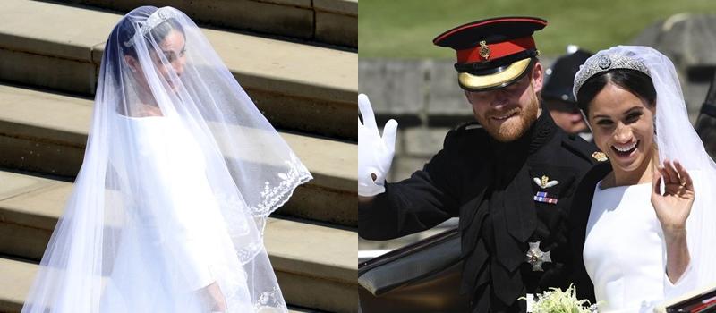 選擇Givenchy 女性設計總監操刀,皇室公開梅根王妃新娘婚紗的背後故事!