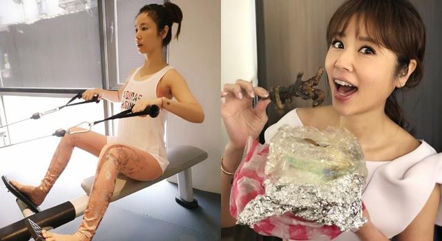 吃貨媽咪卻超有少女感!林心如公開「減脂餐、瘦大腿健身秘訣」!