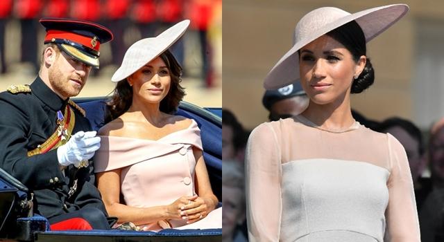 新王妃梅根初登英皇室社交場合!靠「頂上造型」衣Q由負轉正!