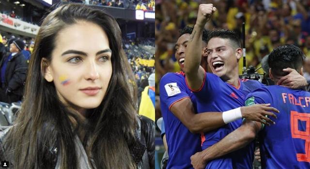 她被封為世界盃第一美女!起底哥倫比亞「正妹球迷」結果竟是一場誤會…