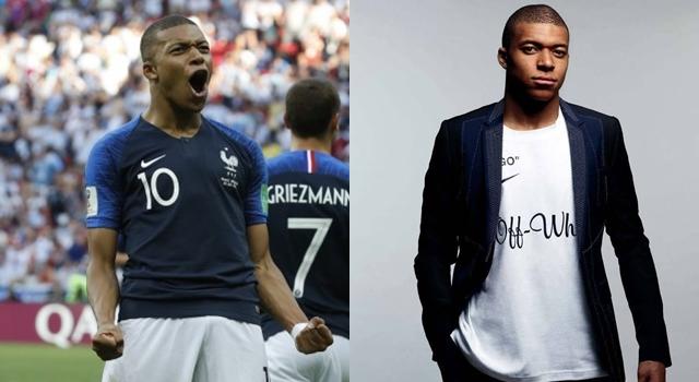 19歲姆巴佩成法國致勝關鍵身價飆!被時尚圈看好將是下一個貝克漢?
