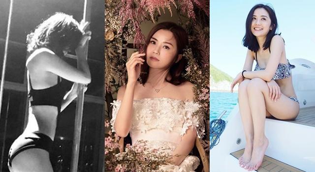 阿sa蔡卓妍「鋼管照」曬辣肉!出道18年瘦小臉、維持少女身的秘訣是…