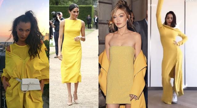 新王妃梅根一穿就顯白!全球女星都愛「Z世代黃」成今夏最潮色調!