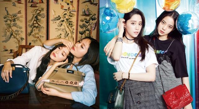 一家神基因!Jessica和Krystal同框顏值爆表、歐陽姊妹花合體比腿長!