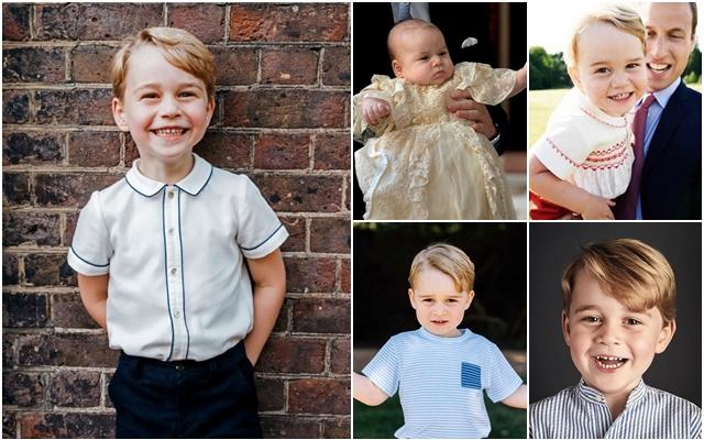 英喬治小王子5歲生日照太萌!皇室準備帶他到這個海島慶生