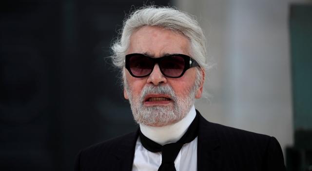 時尚老佛爺拿掉墨鏡了!Karl Lagerfeld新造型,網友:好像肯德基爺爺!