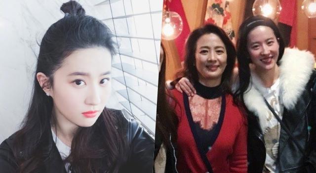 劉亦菲60歲媽媽「比女兒還美」!曝光一家神基因、高顏值保養秘訣!