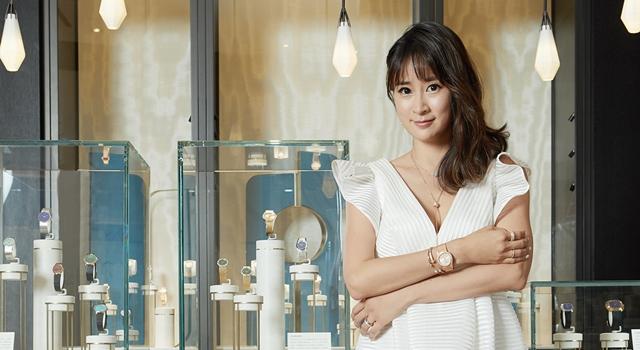 (有片)李晶晶出席珠寶展又見「晶晶體」:每個 jewelry 都有自己的 story!