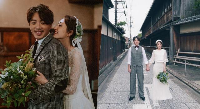 柯佳嬿坦言婚禮前超焦慮!「文青風婚紗照」網友狂讚:小清新卻超有愛!
