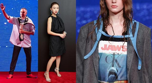 紐約時裝週》「魏瓔珞」首場時裝秀獻給CK!巧遇《大白鯊》超刺激!