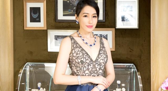 陳妍嵐逛蕭邦頂級珠寶展!最愛 2 億「豪宅級」藍寶石!