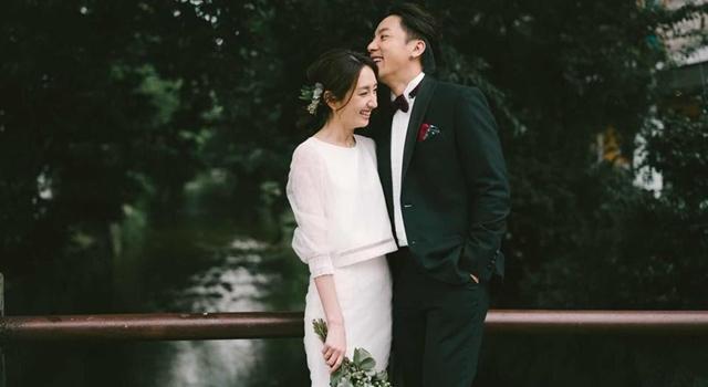 柯佳嬿、謝坤達終於婚了!新娘辣穿「透視白紗」若隱若現超撩人!