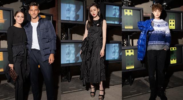 米蘭時裝週》MONCLER靜態展眾星雲集,中國女星張天愛狂搶鏡!