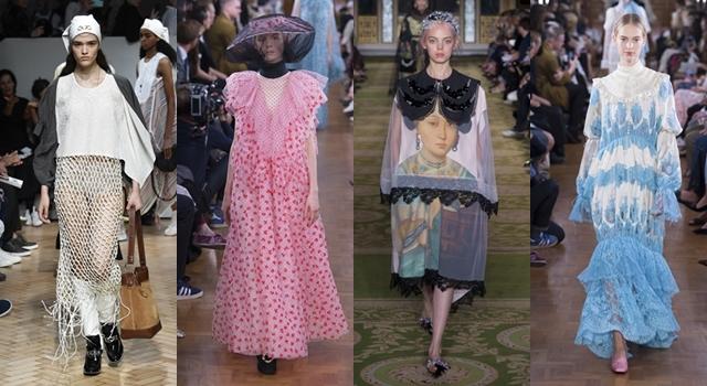 宮廷風、誇張頭飾…2019春夏倫敦時裝週,設計師也瘋《延禧》?