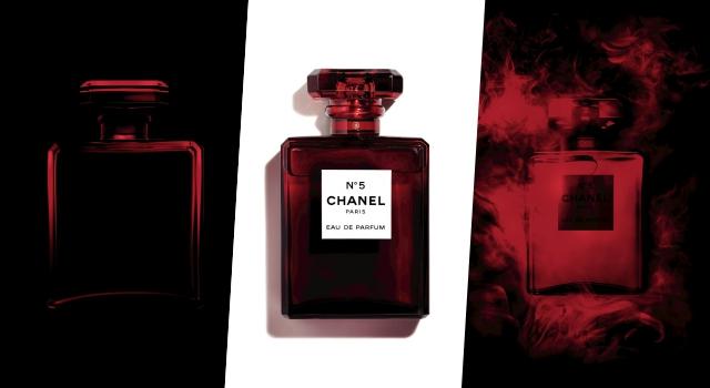 香奈兒No.5香水「紅色限量瓶身」實品現身!簡直是藝術品美極了!