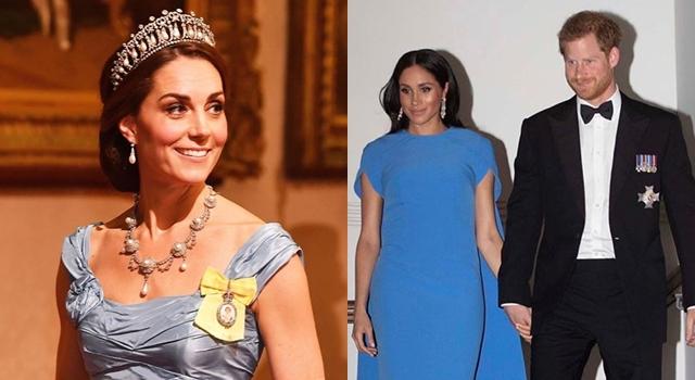 皇室時尚藍之爭!凱特王妃生三胎卻更瘦,秀「螞蟻腰」狠尬孕期梅根!
