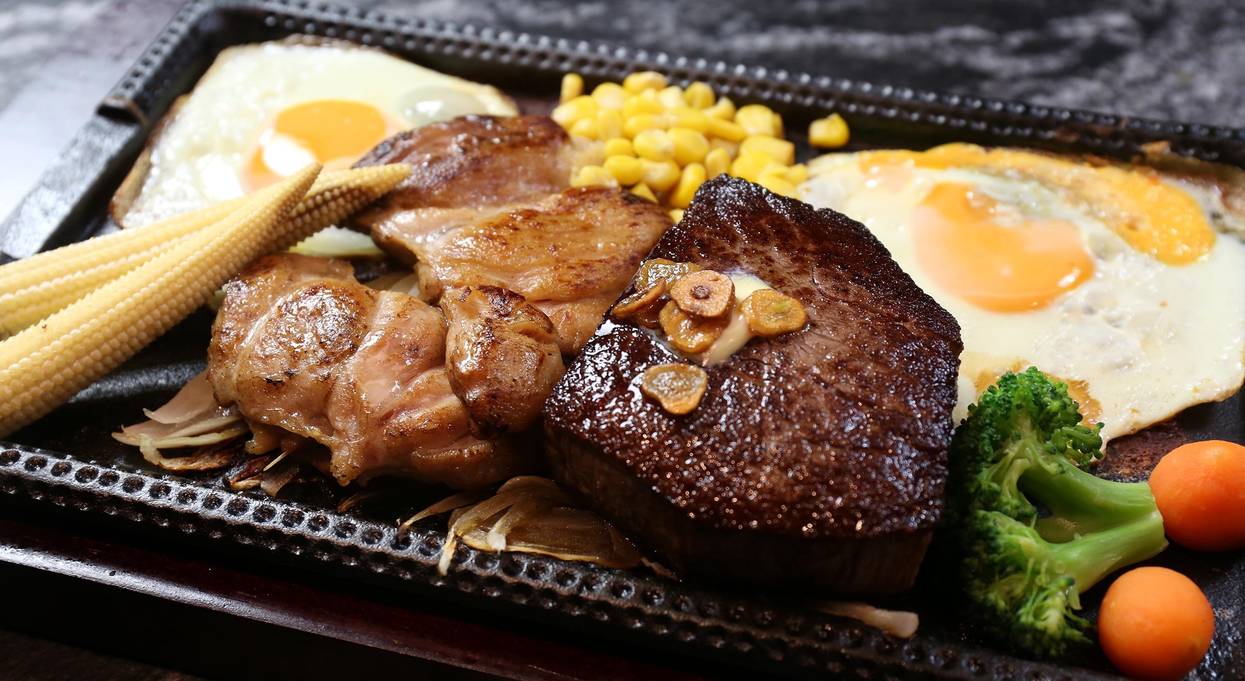 480元吃到頂級肋眼附餐還能吃到飽!「鉄火牛排」網友激推超划算!