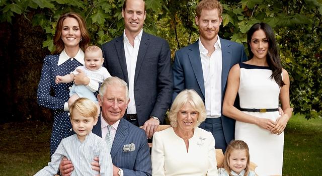 查爾斯王子70大壽皇室成員大合照!路易小王子長胖了笑開懷超萌!