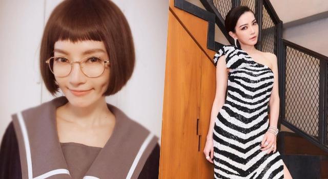 謝金燕超短髮造型曝光!「妹妹頭+短裙制服」根本嫩成高中生!
