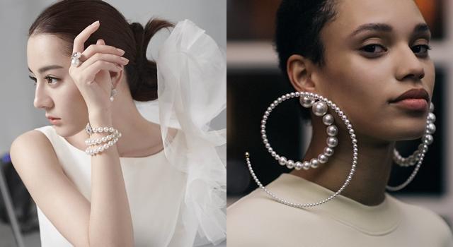 驚見「拳頭大」珍珠耳環!揭迪麗熱巴、賈靜雯都愛珍珠的原因...