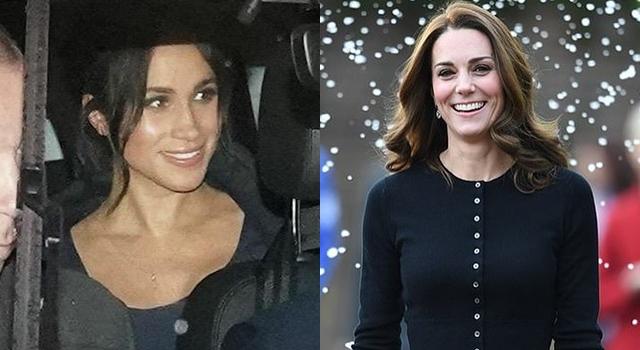 英皇家媳耶誕穿搭大PK!凱特王妃「格紋紅裙」全賣光,梅根依然故我?