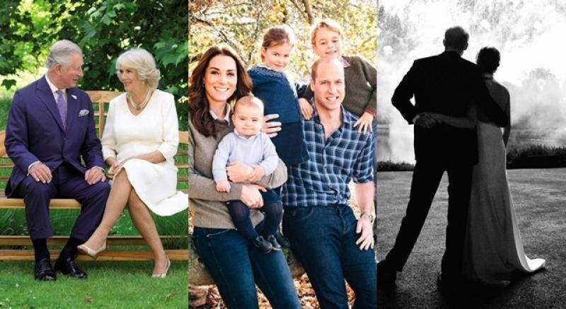 英皇室首度公開威廉凱特全家福耶誕卡!喬治、夏綠蒂、路易合照萌得人心都融化了!