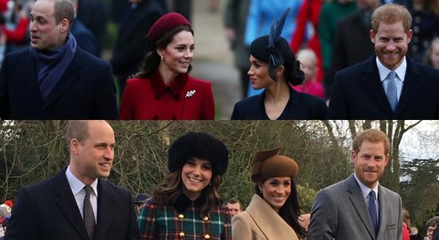 連兩年耶誕穿錯衣?凱特王妃靠時尚「節慶感」完勝梅根黑壓壓!