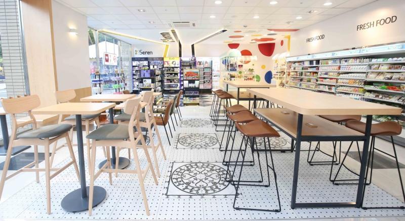 小7變大7了!結合博客來、麵包店、手沖咖啡的全新複合門市真的太狂了!