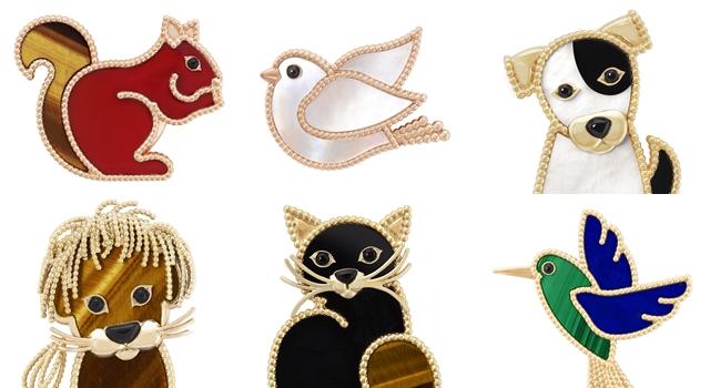 貓咪、獅子、松鼠爬上身好可愛!「動物珠寶」時尚圈大熱!