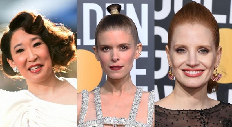 金球獎紅毯時尚步步驚心!潔西卡雀絲坦、凱特瑪拉髮型讓人「看不懂」...