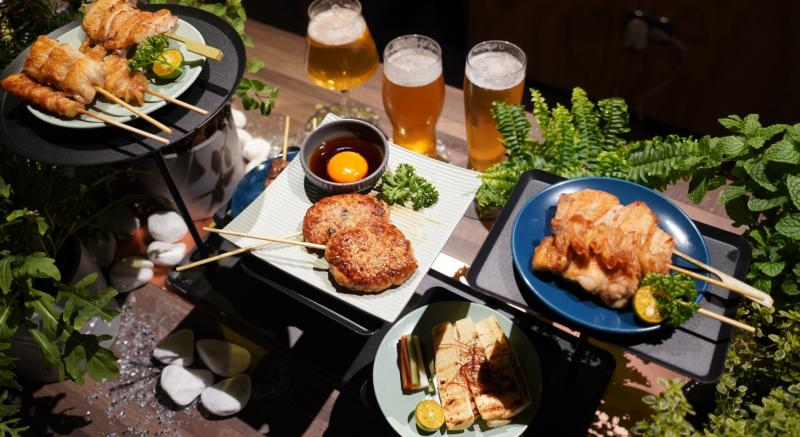 最適合「菜單選擇困難者」,搭配好的燒肉組合餐果然是「酒肉朋友」的心頭好!