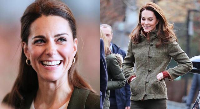 凱特王妃瘦出新高度!穿「緊身褲」秀美腿,生三胎不發胖的秘訣是…