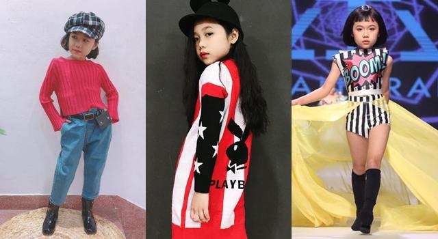 貝小七強敵出現!8歲越南女童時裝週「超狂走秀」釣出超模按讚!
