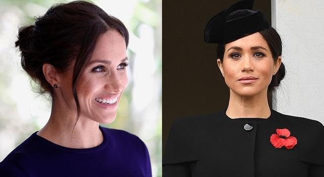梅根又踩禁忌!穿黑寡婦舊衣,換「新髮型」再戰皇室傳統